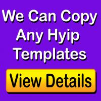 Hyip Template Cloning