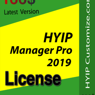 GC Hyip Manager Script (License)